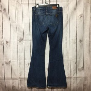 Joes Jeans Flare Visionaire 29 Distressed Blue